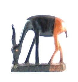 Gazelle carving in Ebony wood