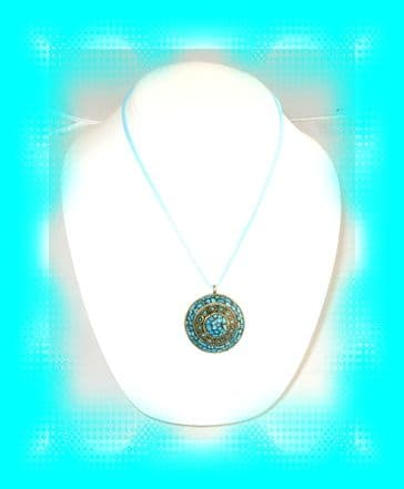 Indian Domed Pendant #2