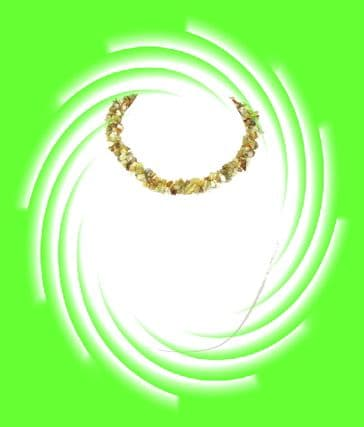 Indian Necklace - Peridot