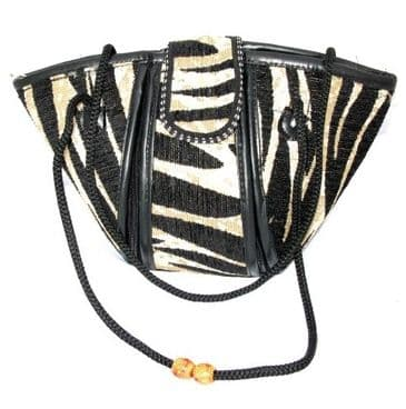 Suede Fashion Bag - Wild! Design - med