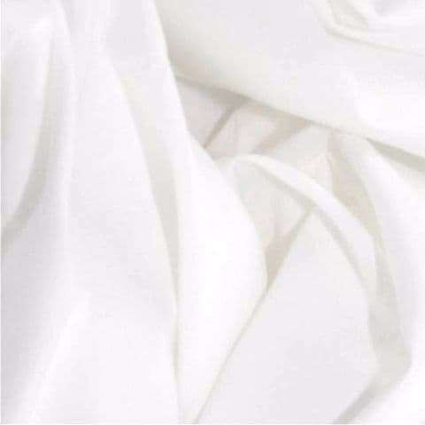 Extra Wide 100% Cotton Fabric Sheeting  Black  or White  per metre 63 inch wide