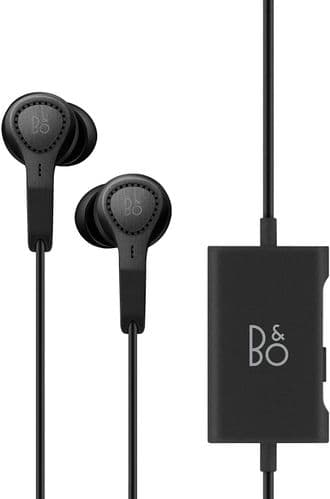 Bang & Olufsen Beoplay E4 Advanced Active Noise Cancelling Earphones - Black