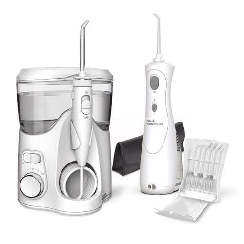 Waterpik Ultra Plus Water Flosser & Cordless Plus Water Flosser WP-150UK/WP-470