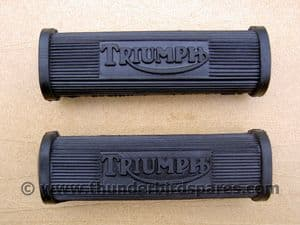 Footrest Rubbers, Pillion, Triumph all twin models 1945-1970, 82-1695