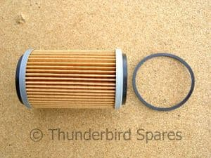 Oil Filter, BSA B25 and B50, 1971 on. 19-4589, 99-1179, UK Made.
