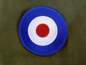 Patch, RAF Roundel, Sew-On, Mods & Rockers Insignia