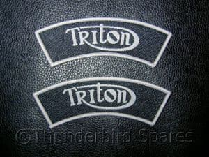 Triton Shoulder Flashes, Pair, Top Quality