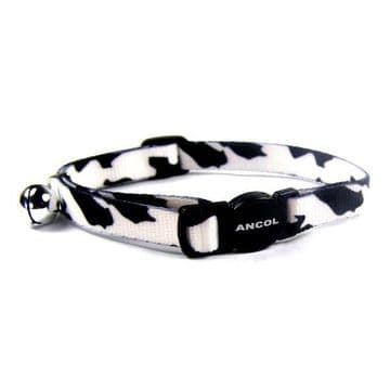 Ancol Cat Collar Camo Black N White