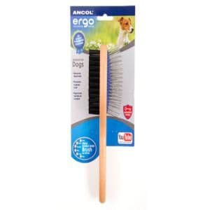 Ancol Heritage Double Sided Brush Small