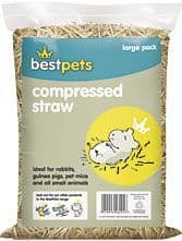 Best Pets Compressed Straw