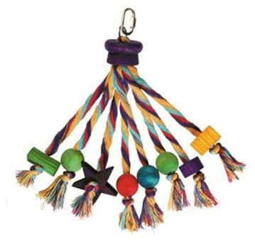 Happy Pet Carnival Parrot Toy