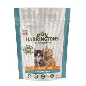 Harringtons Complete Kitten Chicken and Rice 425g
