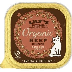 Lilys Kitchen Organic Beef for Cats 85g