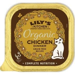 Lilys Kitchen Organic Chicken for Cats 85g