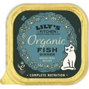 Lilys Kitchen Organic Fish for Cats 85g