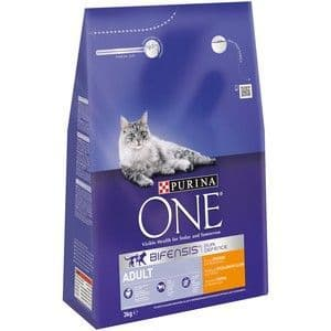 Purina One Adult Cat Chicken & Whole Grain 3kg