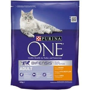 Purina One Adult Cat Chicken & Whole Grain 800g