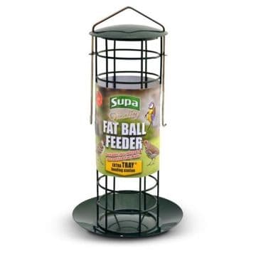 Supa Fat Ball Feeder With Tray