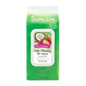Tropiclean Deep Cleaning Wipes 100s