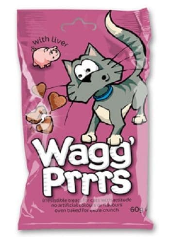 Wagg Prrrs With Liver 60g