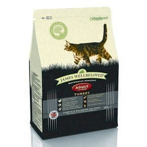 Wellbeloved Cat Food Adult Turkey and Rice 300g