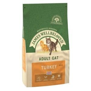 Wellbeloved Cat Food Adult Turkey and Rice 4kg