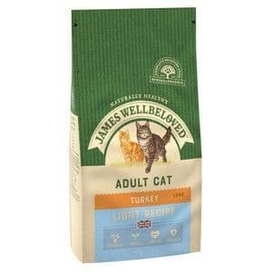 Wellbeloved Cat Food Light Turkey and Rice 1.5kg