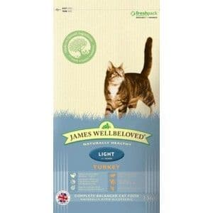 Wellbeloved Cat Food Light Turkey and Rice 4kg