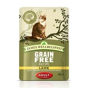 Wellbeloved Cat Lamb Adult Pouch 12 x 85g