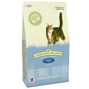 Wellbeloved Fish & Rice Cat Food Light 4kg