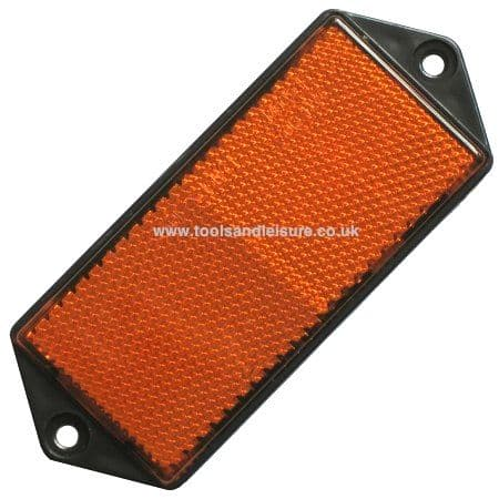 AMBER Side Reflector (screw on)