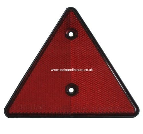 Red Reflective Trailer Triangle | Triangle Reflector | Red Reflector