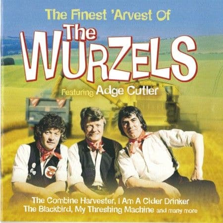 The Wurzels The Finest 'Arvest CD