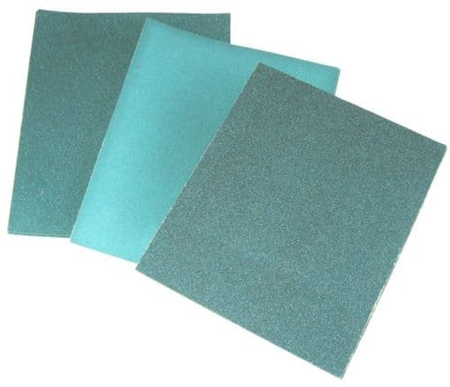 Toolzone Tools 10pc Wet and Dry Abrasive Paper