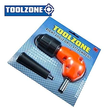 Toolzone Tools 3/8'' Right Angle Drill Attachment