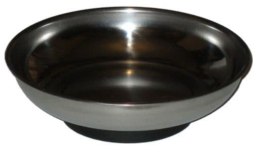 """Toolzone Tools 6"""" Stainless Steel Magnetic Parts Dish"""