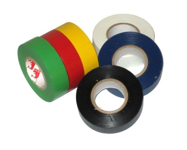 White PVC Insulation Tape, Electrical Tape | Tools & Leisure
