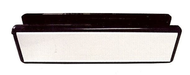 """12"""" SILVER/GOLD MIDRIAL LETTERBOX 40-80MM (1)"""