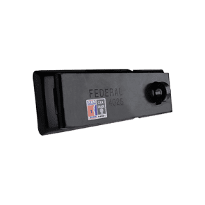 FEDERAL HASP FD4025 BLACK 230mm SOLD SECURE SILVER