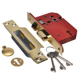 Union Strong Bolt 2203 3 Lever Mortice Sashlock