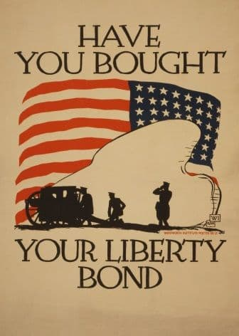 'Have you bought your Liberty Bond' Poster