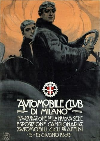 Automobile club, Milan