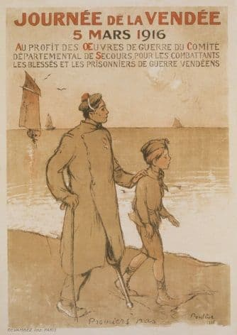 French WW1 poster - Journée de la Vendée