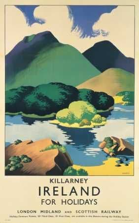 Killarney. Ireland For Holidays, by Sparrow