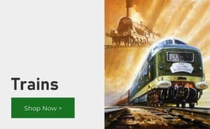 Trains and Railway Timetable Posters
