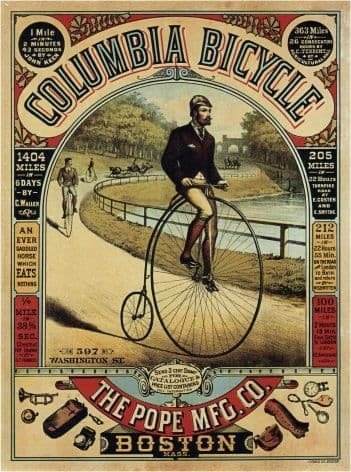FONGERS vintage poster f g SCHLETTE netherlands 1915 24X36 soldiers bicycles