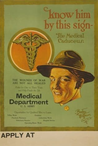 Vintage American Medical Recruitment Poster