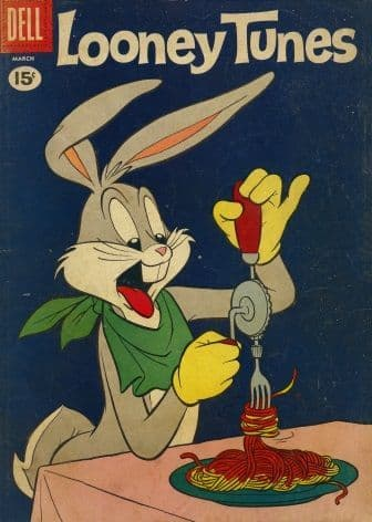 Vintage Children's magazine cover - Looney Tunes, March
